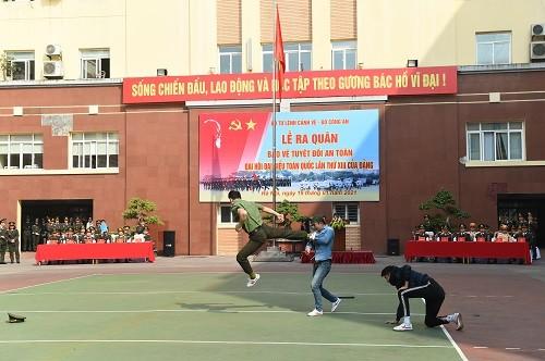 Bộ Tư lệnh Cảnh vệ ra quân bảo vệ Đại hội XIII của Đảng - ảnh 4