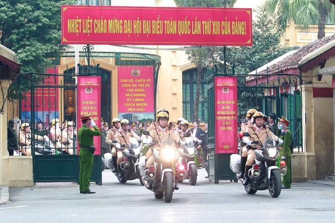 Công an Hà Nội ra quân bảo vệ Đại hội XIII của Đảng - ảnh 3