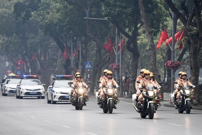 Công an Hà Nội ra quân bảo vệ Đại hội XIII của Đảng - ảnh 4