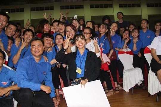 Hoa hậu Việt Nam 2018 đồng hành cùng tuổi trẻ Bình Định - ảnh 12