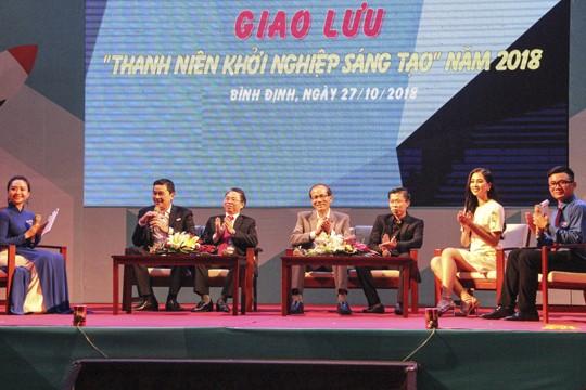 Hoa hậu Việt Nam 2018 đồng hành cùng tuổi trẻ Bình Định - ảnh 10