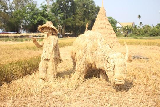 Sôi động tuổi thơ với lễ hội ngày mùa trên đồng ruộng  - ảnh 15