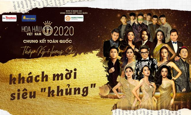 Chung kết Hoa Hậu Việt Nam 2020 đón chào sự đổ bộ của dàn sao khách mời siêu
