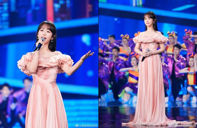 Dương Tử diện trang phục của NTK Công Trí trong sự kiện của đài CCTV - ảnh 5