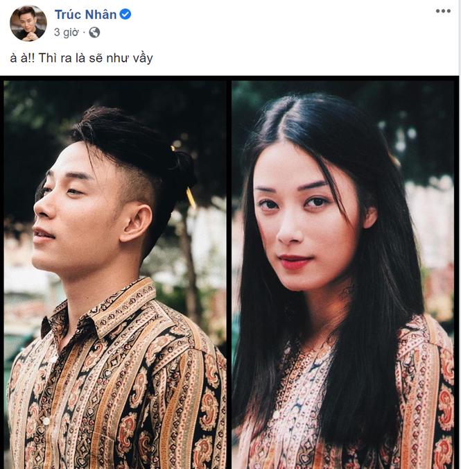 Sao Việt ùn ùn bình luận bài đăng lột xác khó ngờ của Trúc Nhân trên MXH - ảnh 1
