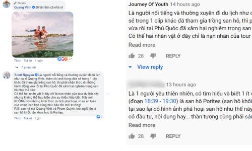 Quang Vinh bị chỉ trích về hành động ảnh hưởng tiêu cực đến sinh vật biển - ảnh 3
