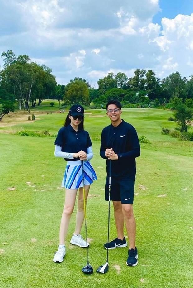 """Dàn mỹ nhân V-Biz nhập hội chơi golf đọ sắc vóc thân thái đầy """"chanh sả"""" - ảnh 2"""