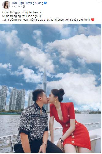 Hương Giang - Matt Liu bất ngờ chia sẻ loạt khoảnh khắc ấm áp bên nhau khiến fan thích thú - ảnh 1