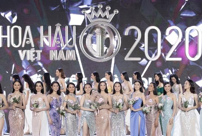 Cặp đôi song Trường gây thương nhớ khi hòa giọng tại bán kết Hoa hậu Việt Nam 2020  - ảnh 1