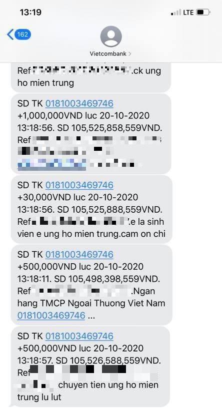 Sau một tuần, Thủy Tiên kêu gọi được hơn 100 tỷ đồng ủng hộ miền Trung - ảnh 1