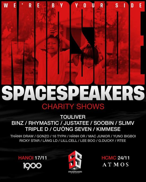 Đêm diễn quy tụ team SpaceSpeakers đình đám và dàn thí sinh Rap Việt được yêu thích   - ảnh 2