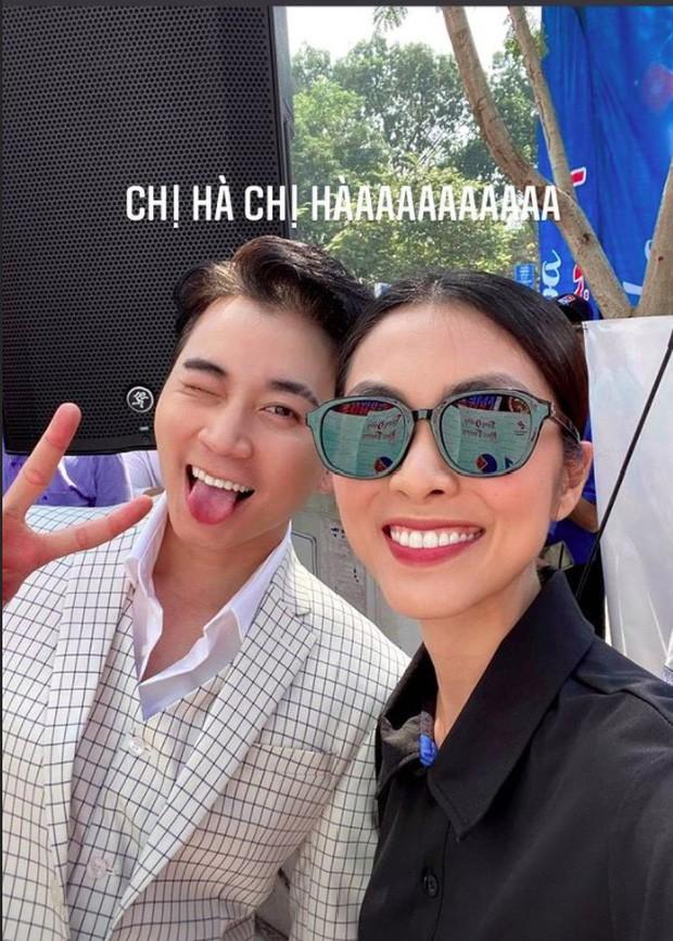 Hà Tăng và Karik lần đầu tiên
