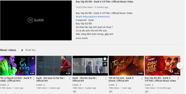 Ờ Mây Zing, Gút Chóp: Karik nhận được nút Vàng từ YouTube  - ảnh 3