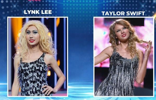 """Lynk Lee nhận """"cơn mưa gạch đá"""" vì giả Taylor Swift quá tệ, liệu có bị anti-fan - ảnh 1"""