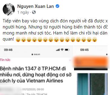 Phản ứng các sao Việt khi dịch Covid-19 có nguy cơ bùng phát lại tại TP.Hồ Chí Minh - ảnh 2