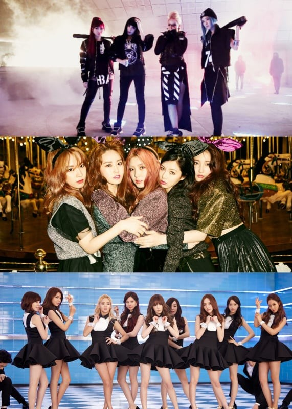 """Fan SNSD cùng 2NE1 mở cuộc """"funwar"""" thi cày view cho hai ca khúc cũ - ảnh 1"""