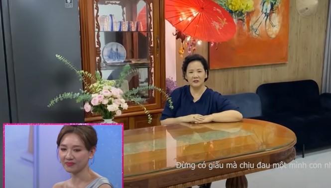 Hari Won bật khóc tiết lộ bệnh tình hiện tại và lời nhắn nhủ xúc động từ mẹ  - ảnh 2