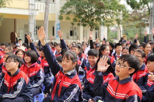 Học bổng từ rác thải mở rộng đến 10 trường học ở Hà Nội - ảnh 5