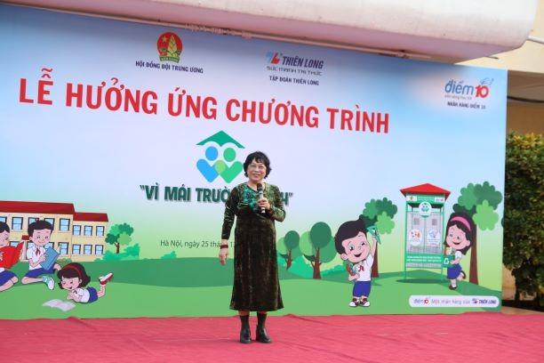 Học bổng từ rác thải mở rộng đến 10 trường học ở Hà Nội - ảnh 3