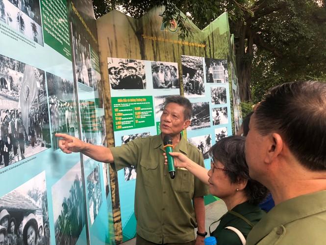 Tái hiện 70 năm hào hùng của TNXP Việt Nam qua ảnh, hiện vật - ảnh 6
