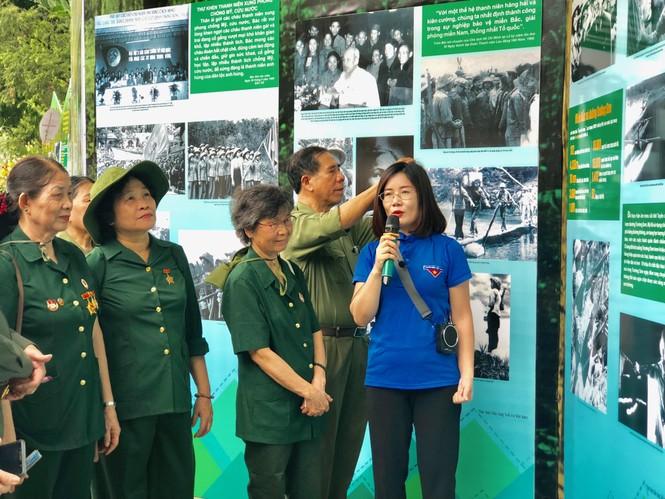Tái hiện 70 năm hào hùng của TNXP Việt Nam qua ảnh, hiện vật - ảnh 3