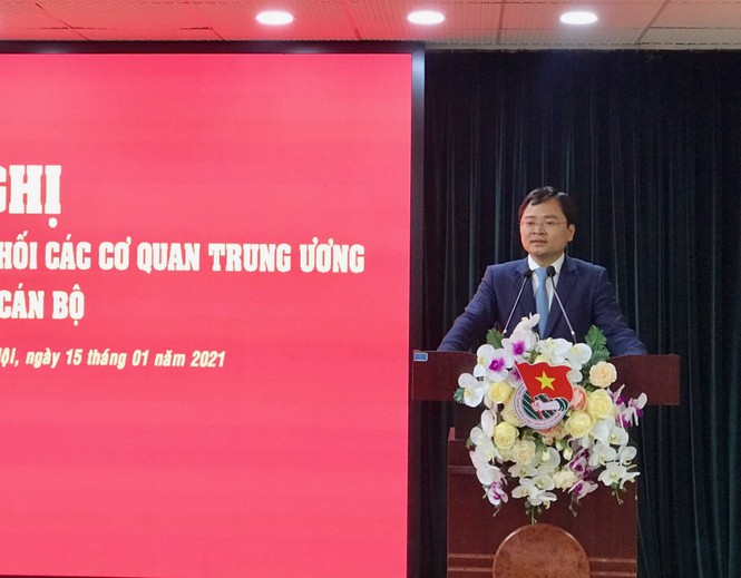 Anh Nguyễn Anh Tuấn giữ chức Bí thư Đảng ủy T.Ư Đoàn - ảnh 2