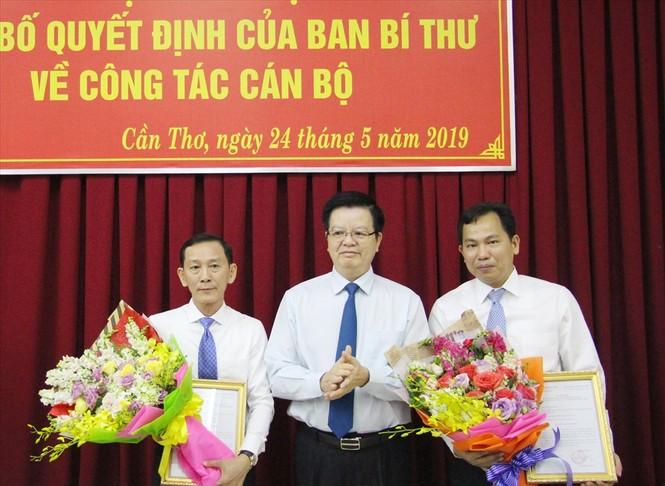 Những nhân sự mới được Bộ Chính trị, Ban Bí thư điều động, luân chuyển - ảnh 1