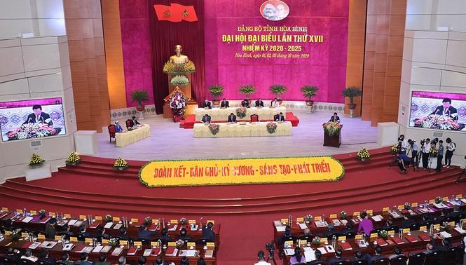 Chủ tịch Quốc hội Nguyễn Thị Kim Ngân chỉ đạo Đại hội Đảng bộ Hòa Bình - ảnh 1