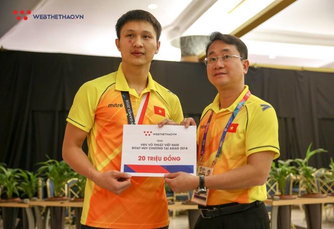 Karate giúp Việt Nam có thêm một HCB tại ASIAD - ảnh 1