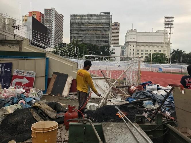 SEA Games cận kề, chủ nhà Philippines hối hả chạy đua tiến độ  - ảnh 4