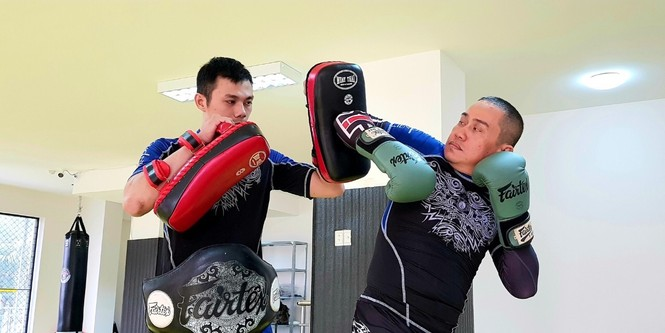 Johnny Trí Nguyễn tái xuất tại võ đường Hắc Báo MMA Club - ảnh 5