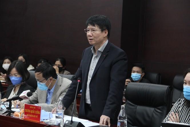 Đà Nẵng COVID-19 Bộ Y tế Thứ trưởng Trương Quốc Cường cách ly - ảnh 1