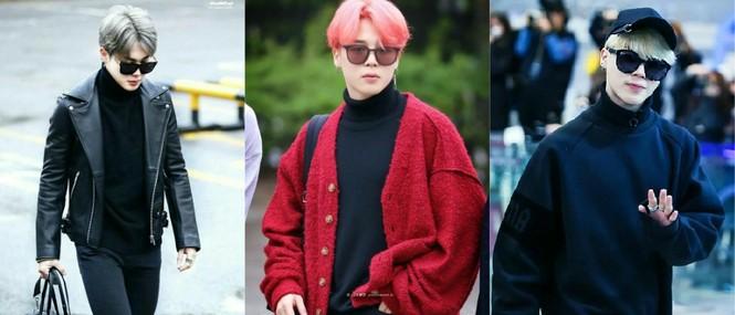 Các kiểu mắt kính của Jimin BTS: Hiếm sao nào có khuôn mặt hợp với các loại kính như Jimin - ảnh 9