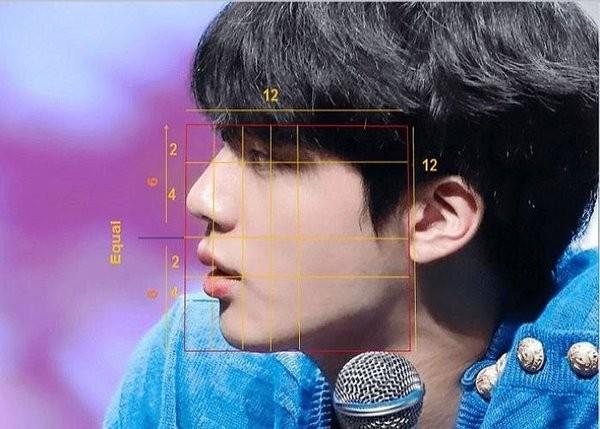 Phân tích khoa học như thế nào mà Jin (BTS) lọt vào Top 3 Gương mặt hoàn hảo nhất Thế giới? - ảnh 2