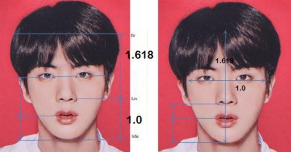 Phân tích khoa học như thế nào mà Jin (BTS) lọt vào Top 3 Gương mặt hoàn hảo nhất Thế giới? - ảnh 3
