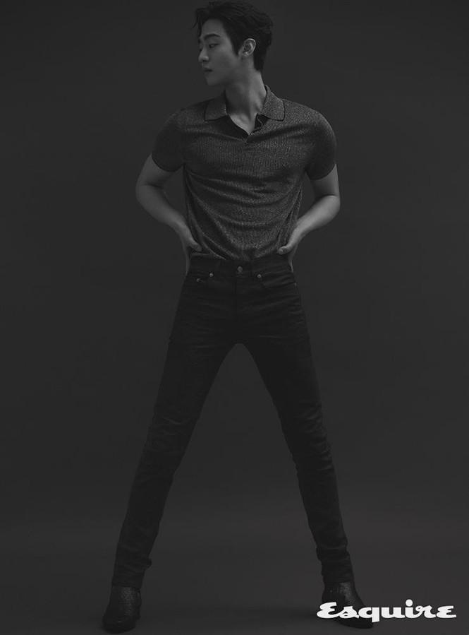 """Ahn Hyo Seop, """"mỹ nam"""" sở hữu đôi chân dài tít tắp, hình mẫu boyfriend mới của fangirl - ảnh 5"""