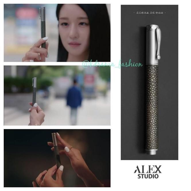 """Seo Ye Ji đúng là """"thánh đồ hiệu"""", đến bật lửa, bút máy và ô cũng có giá gây choáng - ảnh 1"""