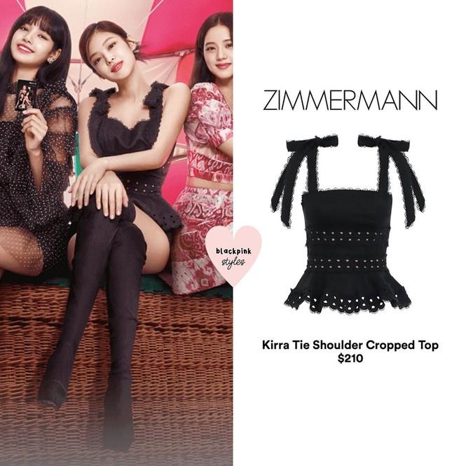 Trang phục của BLACKPINK trong ảnh quảng bá single mới toàn đồ bình dân, giá rẻ bất ngờ - ảnh 3