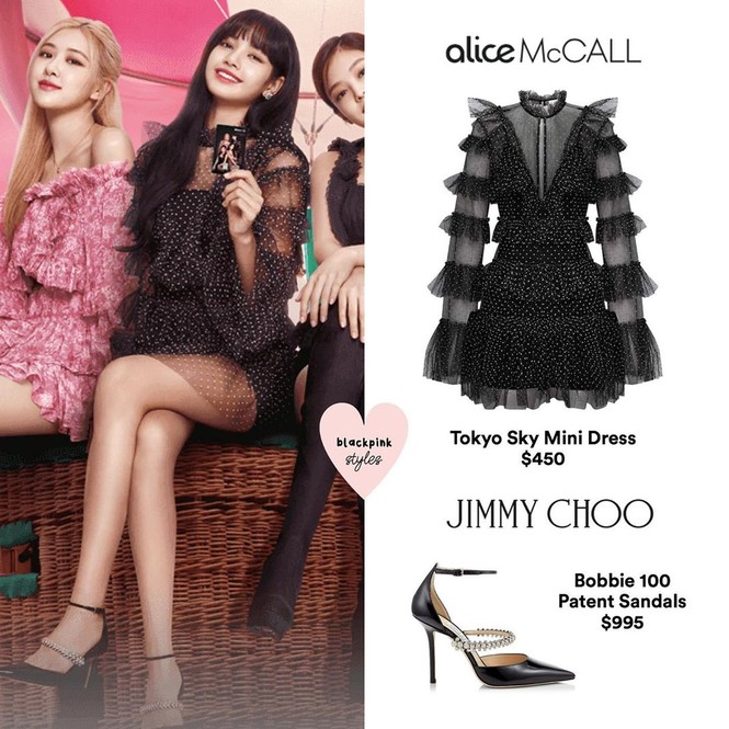 Trang phục của BLACKPINK trong ảnh quảng bá single mới toàn đồ bình dân, giá rẻ bất ngờ - ảnh 4