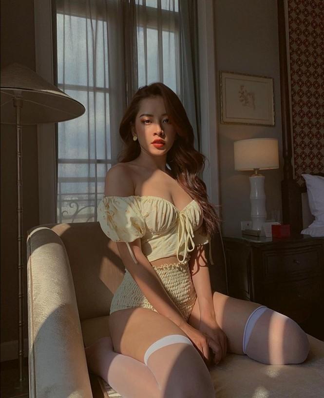 Ngọc Trinh, Jun Vũ, Phương Ly khoe khả năng cân mọi loại trang phục từ nữ tính đến cá tính - ảnh 10