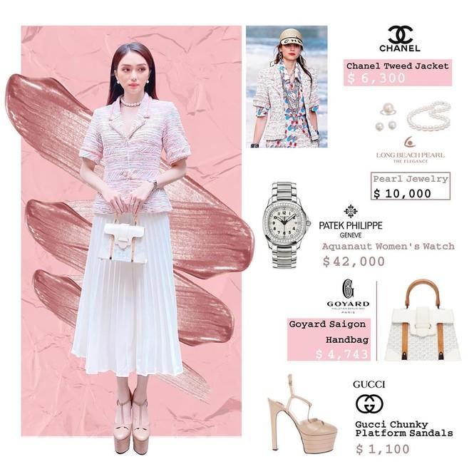 Bóc giá loạt trang phục của Hương Giang, xa xỉ thế này idol Hàn nhìn khéo cũng phải sốc - ảnh 3