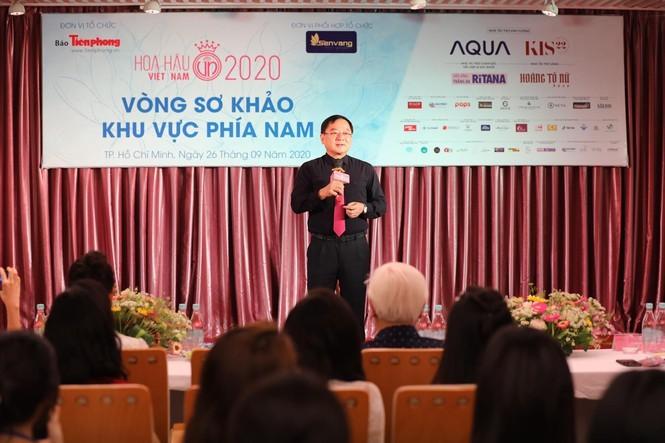 Dàn hậu xuất hiện xinh tươi trẻ trung bất ngờ trong buổi sơ khảo phía Nam Hoa Hậu Việt Nam 2020 - ảnh 1