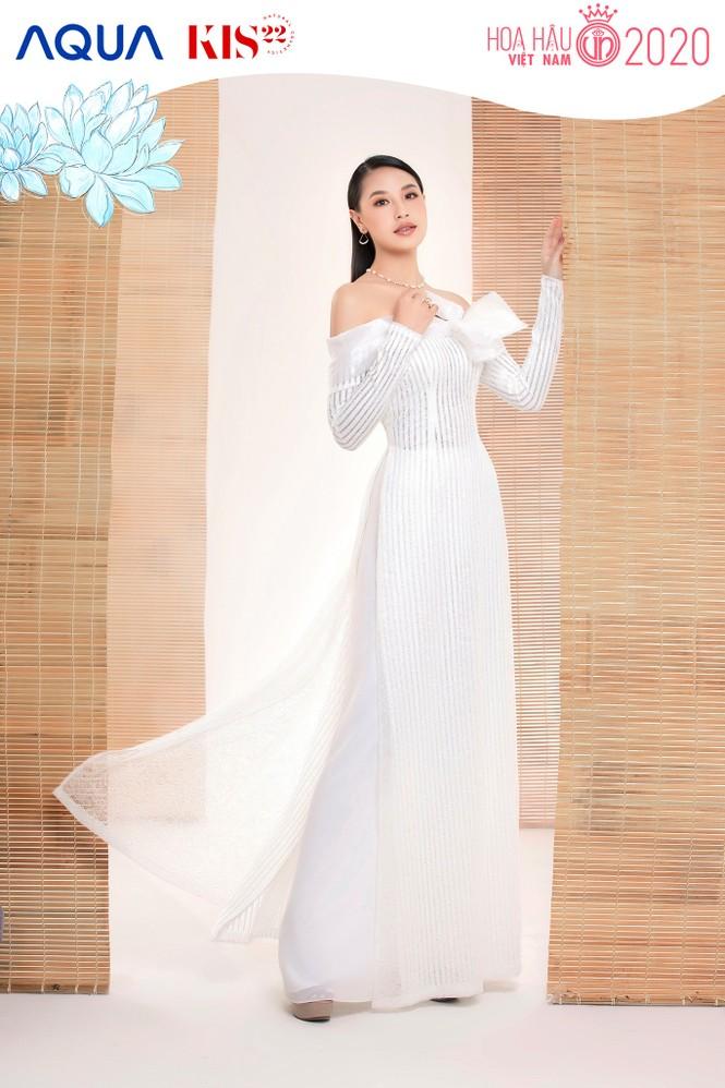 Các cô gái có chiều cao trên 1m70 của Top 60 Hoa Hậu Việt Nam duyên dáng trong tà áo dài - ảnh 4