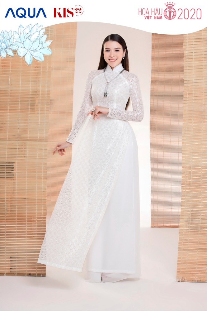 Các cô gái có chiều cao trên 1m70 của Top 60 Hoa Hậu Việt Nam duyên dáng trong tà áo dài - ảnh 12
