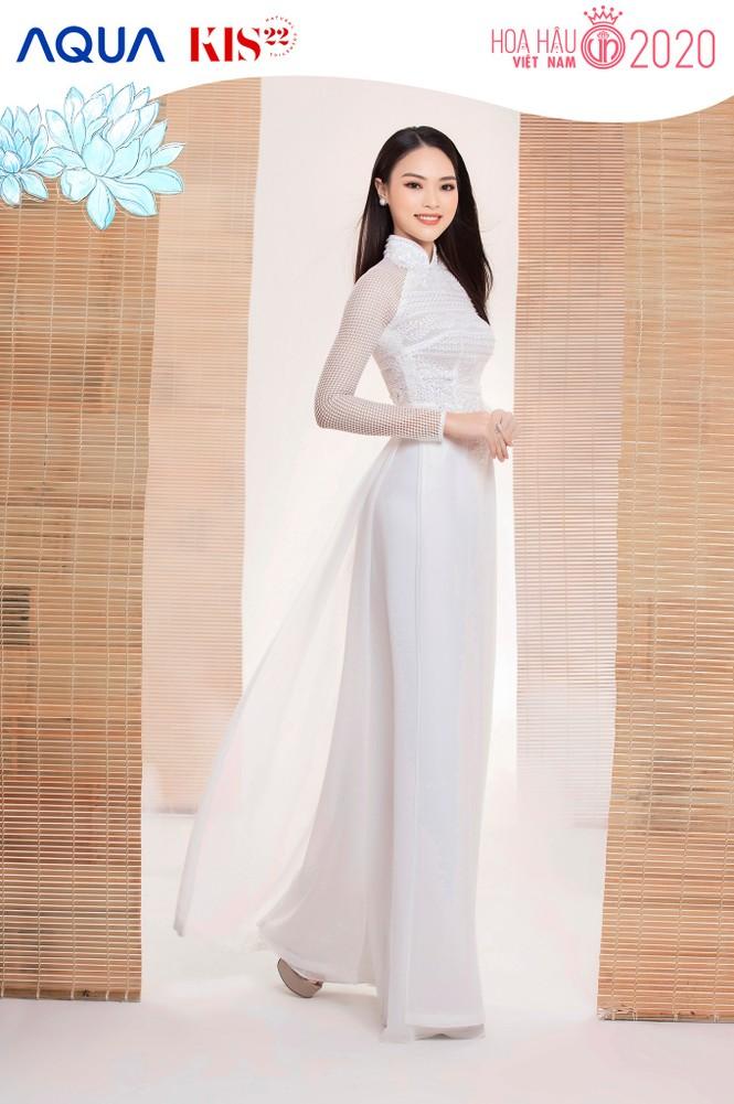 Các cô gái có chiều cao trên 1m70 của Top 60 Hoa Hậu Việt Nam duyên dáng trong tà áo dài - ảnh 10