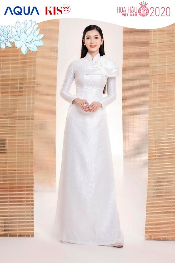 Các cô gái có chiều cao trên 1m70 của Top 60 Hoa Hậu Việt Nam duyên dáng trong tà áo dài - ảnh 5