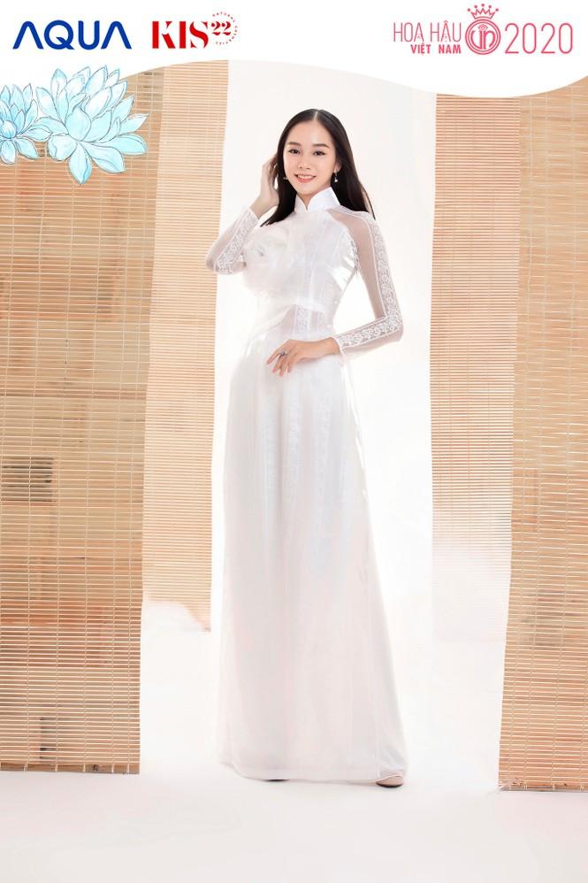 Các cô gái có chiều cao trên 1m70 của Top 60 Hoa Hậu Việt Nam duyên dáng trong tà áo dài - ảnh 7