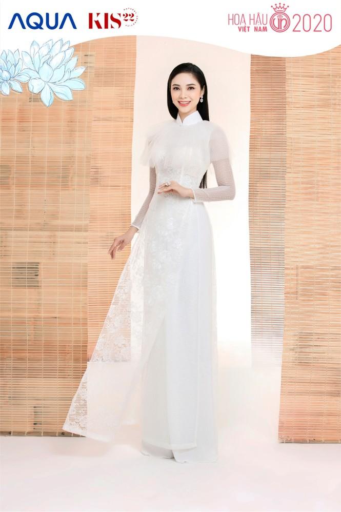 Các cô gái có chiều cao trên 1m70 của Top 60 Hoa Hậu Việt Nam duyên dáng trong tà áo dài - ảnh 11