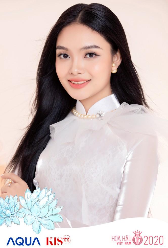 Các cô gái có chiều cao trên 1m70 của Top 60 Hoa Hậu Việt Nam duyên dáng trong tà áo dài - ảnh 8