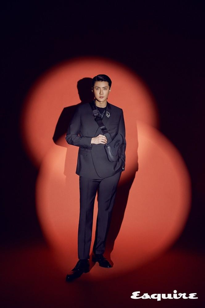 Sehun (EXO) trở thành đại sứ thương hiệu của Dior, khoe body cực phẩm trong BST Dior Men - ảnh 1